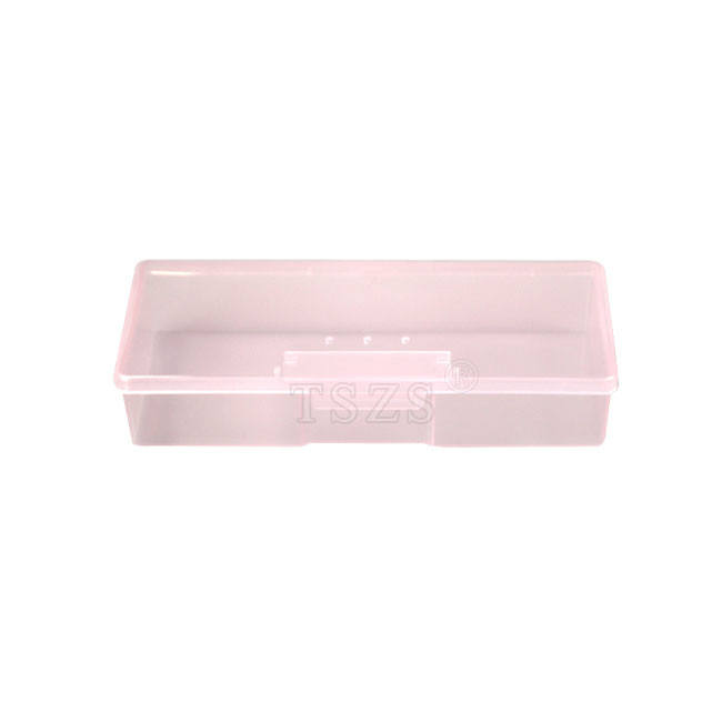 NT-132 new arrive rectangle nail art plastic storage tool box