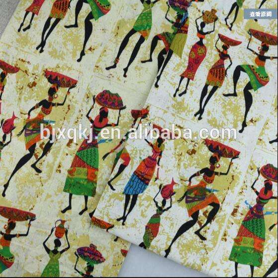 wholesale Individuality indian ethnic style upholstery linen cotton fabric