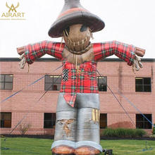 Sale giant inflatable scarecrow, outdoor decoration inflatable cartoon
