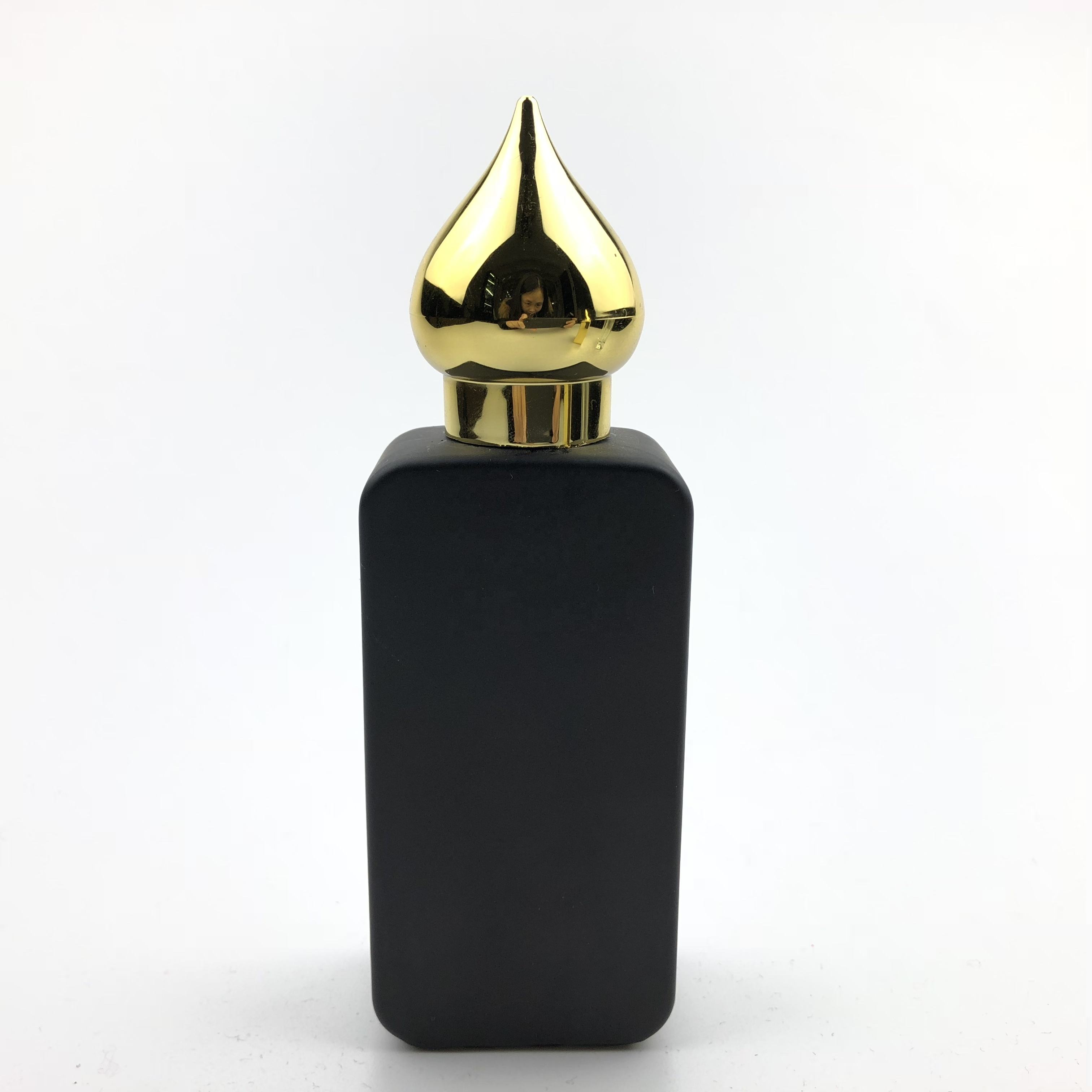 50ml black gold hot empty manufacture empty wholesale perfume bottles