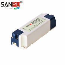 Power Supply AC to DC Plastic 7W 12V SANPU New Arrival AC 110V to DC 12 V Single Output Small Without Fans for led strip