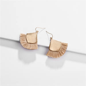 Bohemian Tassel Drop Earrings Fashion Jewelry Gift for Women Girls Valentine Birthday Party