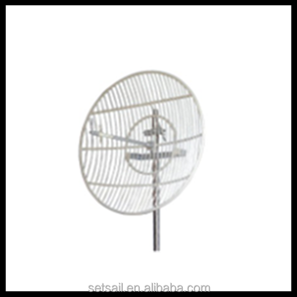 2400-2500MHz 2.4ghz outdoor directional long rang grid wifi antenna