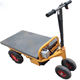 Factory logistics electric flat panel small truck/cart