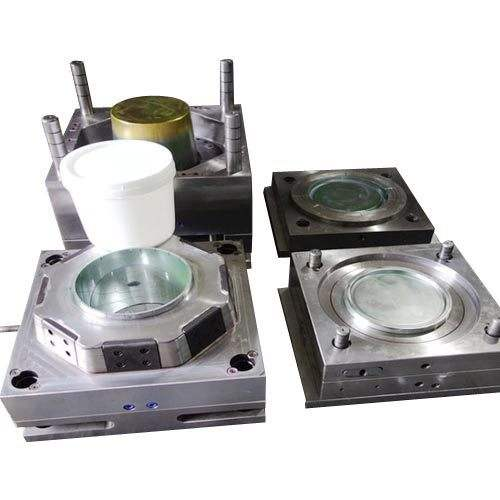 Custom Plastic White Bucket Mould Plastic Injection Mold For Bucket And Cover Manufacturer