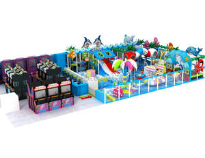 Commercial ocean theme gyms indoor playgroundfor kids