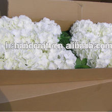 artificial white hydrangea for holiday party favors wedding