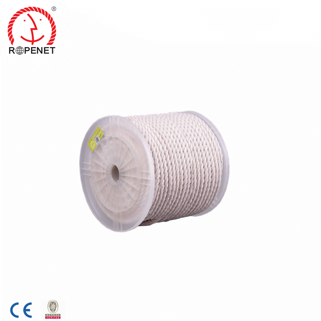 High quality Natural cotton rope 9 mm-20mm rolled packing Japan market