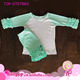 Wholesale Children Raglan Baseball Tops Boutique Clothing Sets Short Half Sleeve Raglan Shirts & Icing Short Ruffle Raglan Set
