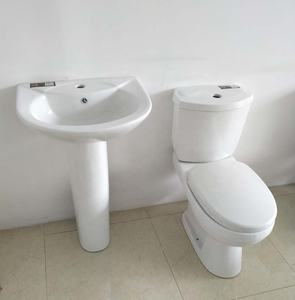 Ghana Wc Toilet Span with Seats Cover