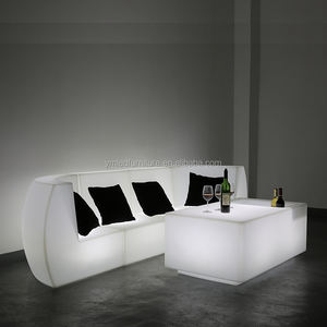 RGB Led Sofa,Led Lighting Sofa,Modern Led Lounge Sofa