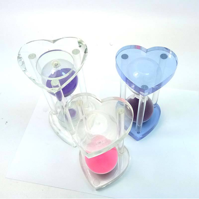 15 Min Colorful Handmade Crystal Hour Glass Crafts wedding souvenirs from China