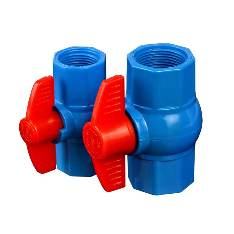 China Professional Manufacturer Plastic PVC Threaded Bangladesh Octagonal Ball Valve