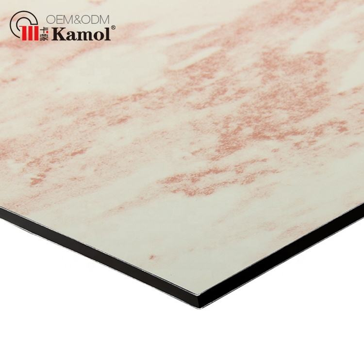 Acm stone building wall cladding panels customized marble aluminium composite panel