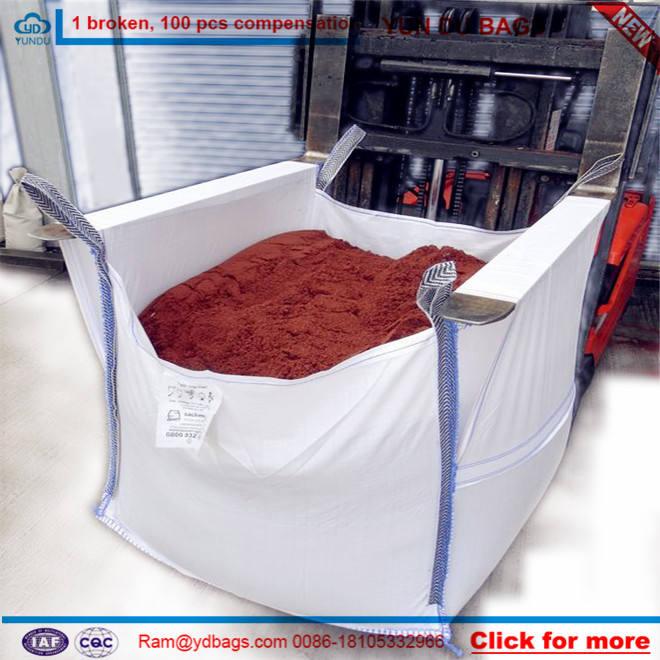 1000 кг fibc мешок супер мешков для песка цемента и химической, 1 Т ПП тканые большой мешок завод в Шаньдуне