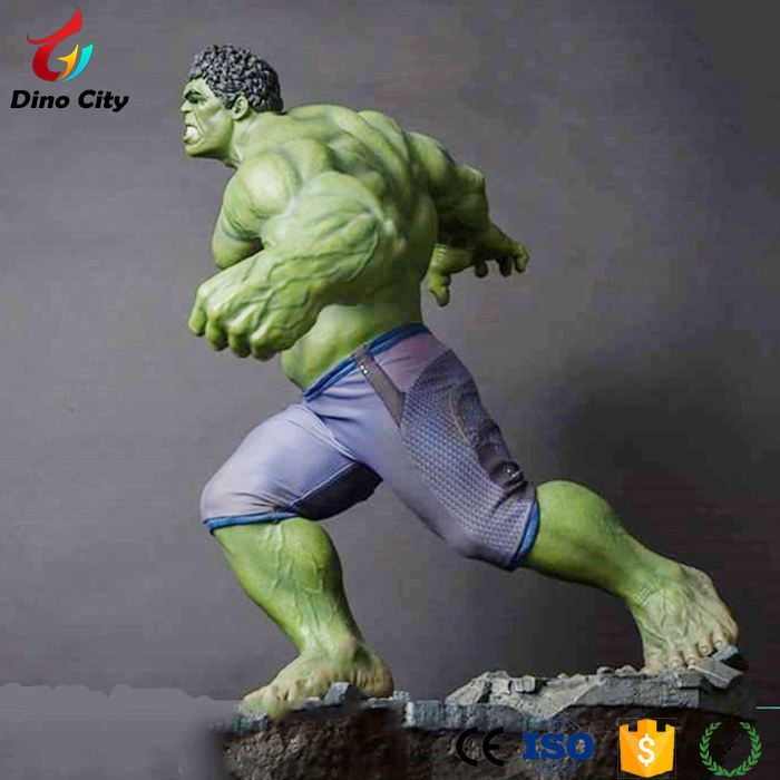 Most Popular Fiberglass Character Life Size Movie Statues for Park