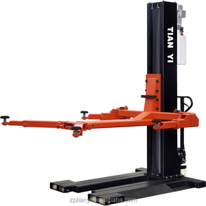 High quality hydraulic single post car lift