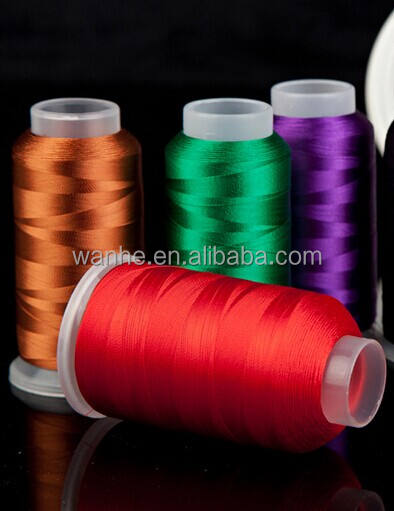 2017 hot sale 100% rayon embroidery thread