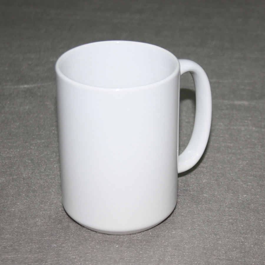 Hot wholesale discount price blank sublimation 15oz ceramic coffee mugs