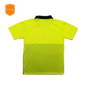 High Visibility Reflective Safety Polo Shirt,Safety T-Shirt