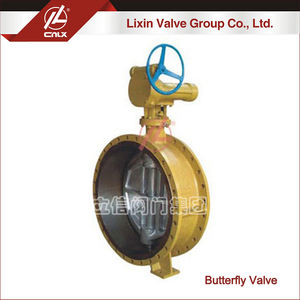 High performance triple offset triple eccentric flange butterfly valve DN500 wholesale supplier