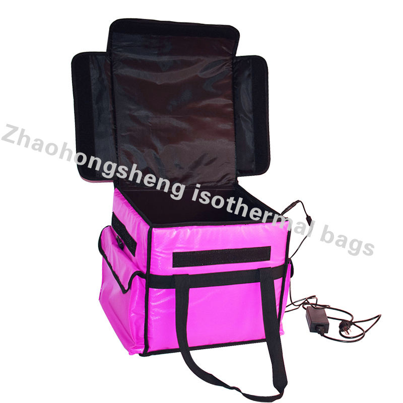 heated insulated electric pizza food warmer delivery cooler box bags