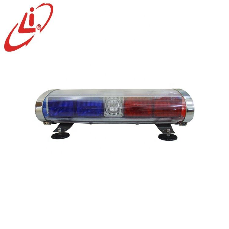 LYAF Xenon Strobe Mini Lightbar With Halogen Rotating Light
