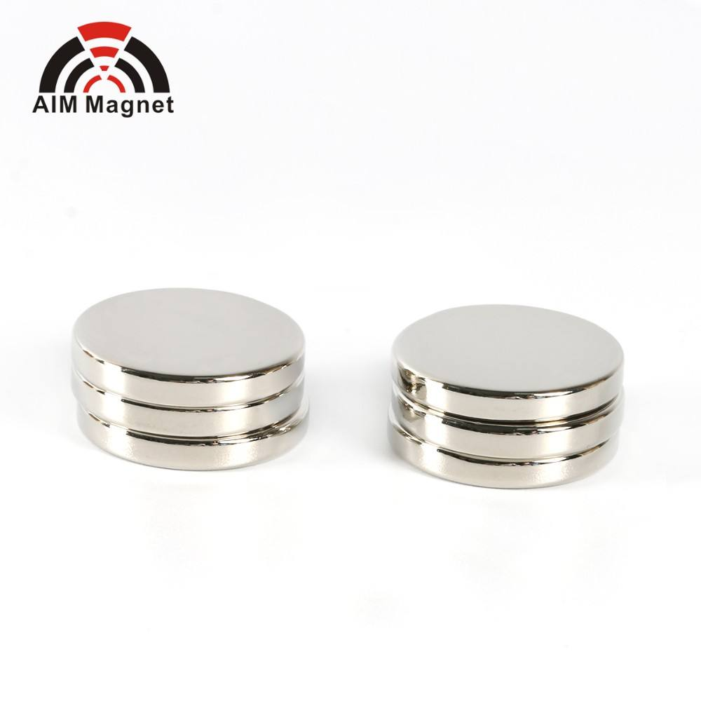 12mm x 2mm n35 magnet disc neodymium magnets for handbags in stock