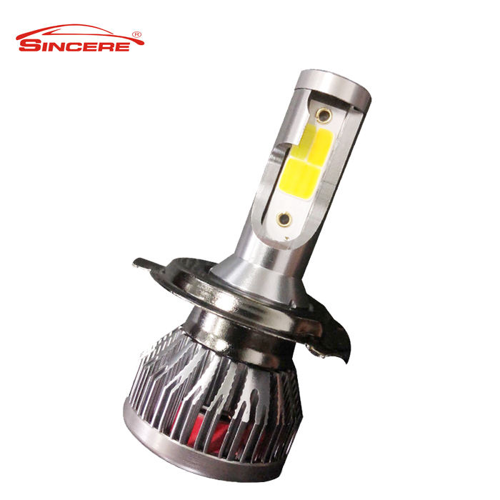 Focus Beam Far Light Distance Wholesale H4 H11 H1 Dual Color LED Headlight