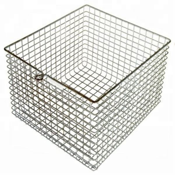 Heat treat 310S stainless steel wire mesh Bulk wire baskets