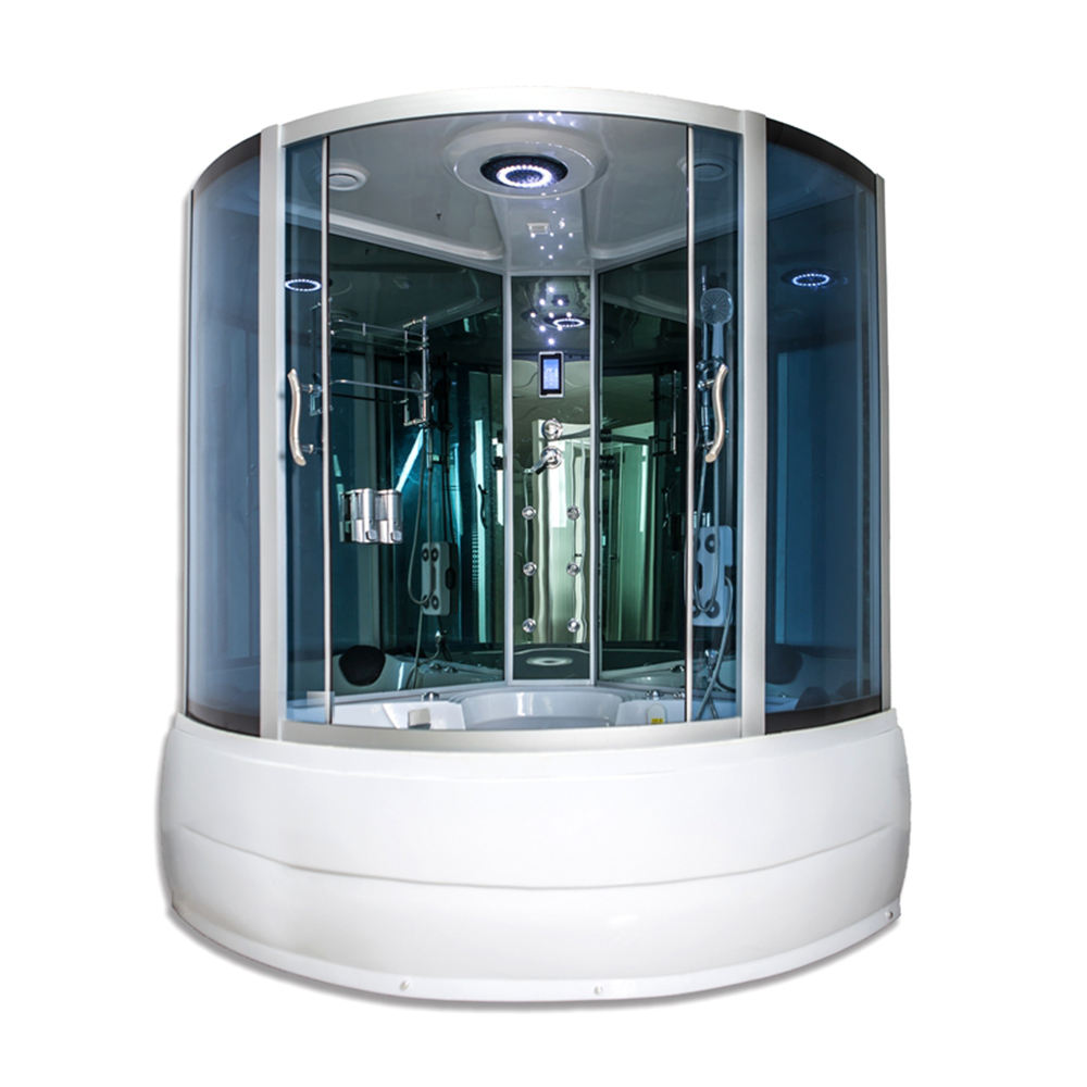 AJL-1030 Hot Sale Massage Glass Cabin Shower Room
