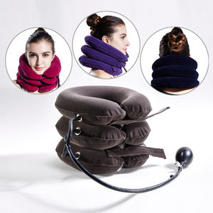 full flannel inflatable air neck traction /Soft Air-pressure Neck Traction cervical collar/cervical traction deviceCustoms Data
