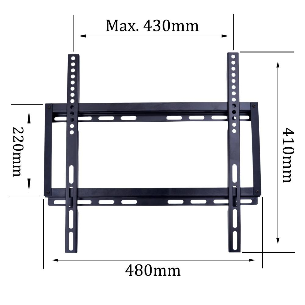 TV STAND PARTS FIXEDためBRACKET 26-55インチPLASMA LED LCD VESA 400 × 400 Ultra Slim 3D TV Flat Screen TV Load Capacity 50までK