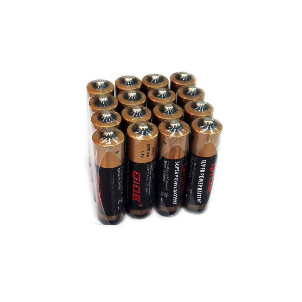 Hot Sale Zinc Carbon Battery R6p Um3 Aa 1.5 Volt Disposable Digital Camera Batteries