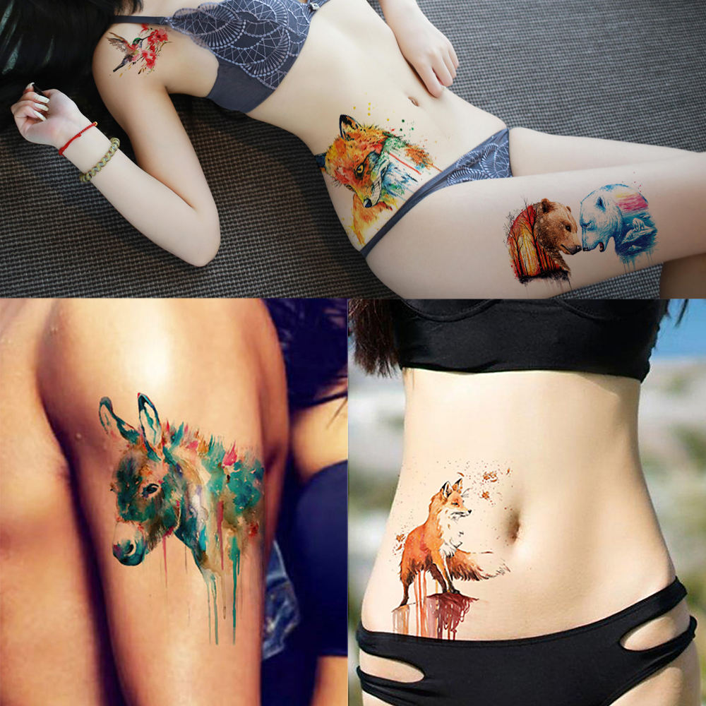 Long Lasting Arm Temporary Tattoo for Adult Kids KM160 - KM190