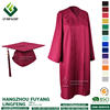 Marron Matte finish Graduation Caps and Gowns Graduation Uniforms
