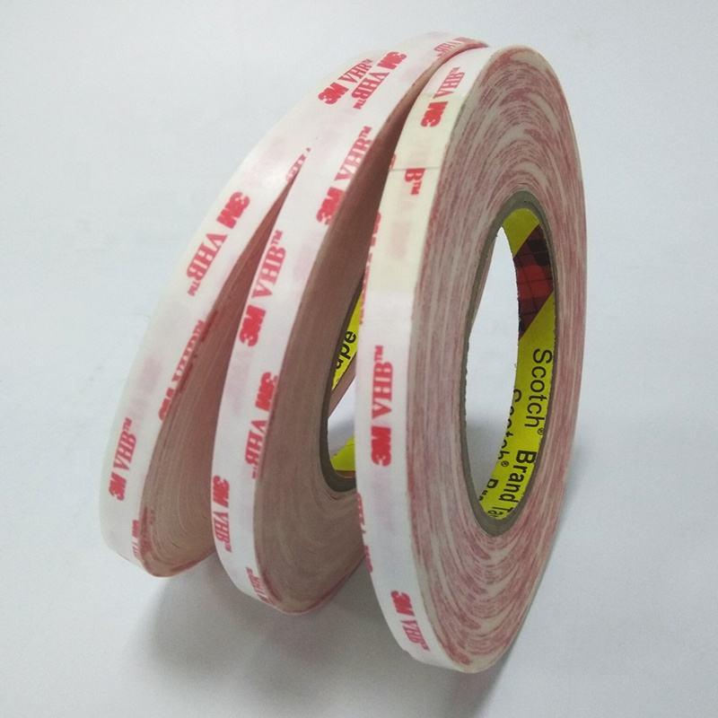 10mm*33m 3m VHB tape 4914 white color Can replace mechanical fasteners or liquid foam adhesives double sided adhesive tape
