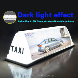 magnet HF49-2 led taxi roof advertising led light box