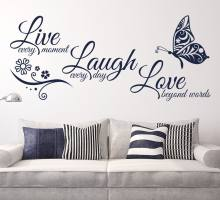 Myway Wall Decals Quotes Vinyls Stickers Wall Sticker Room Home Decor,butterfly wall stickers, sticker custom