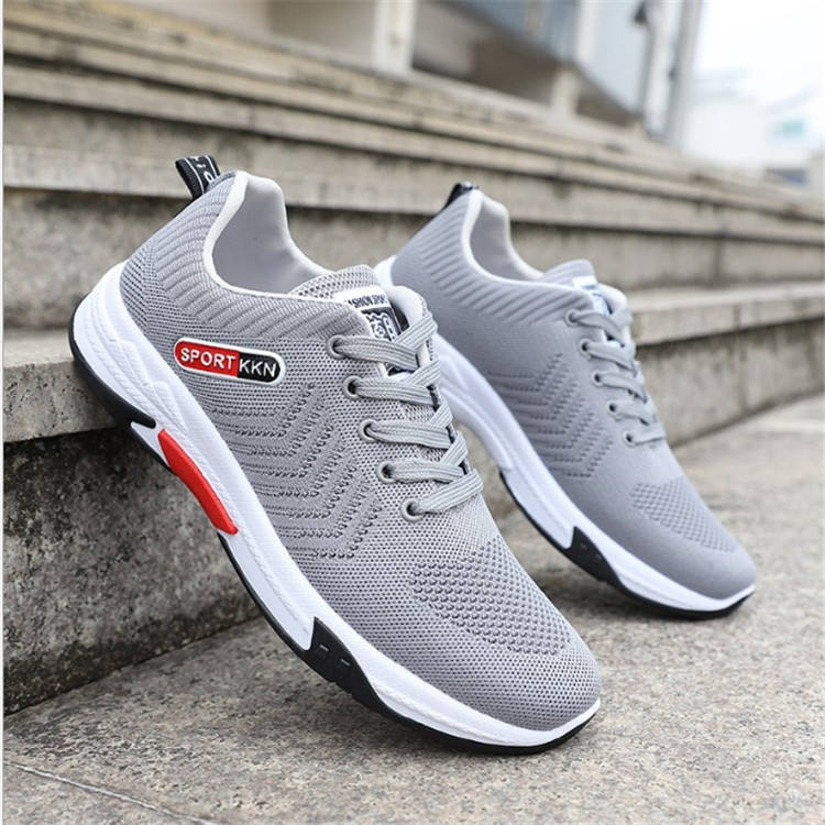 Men's netted casual shoes go well with running shoes