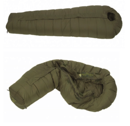military olive green goose down sleeping bags