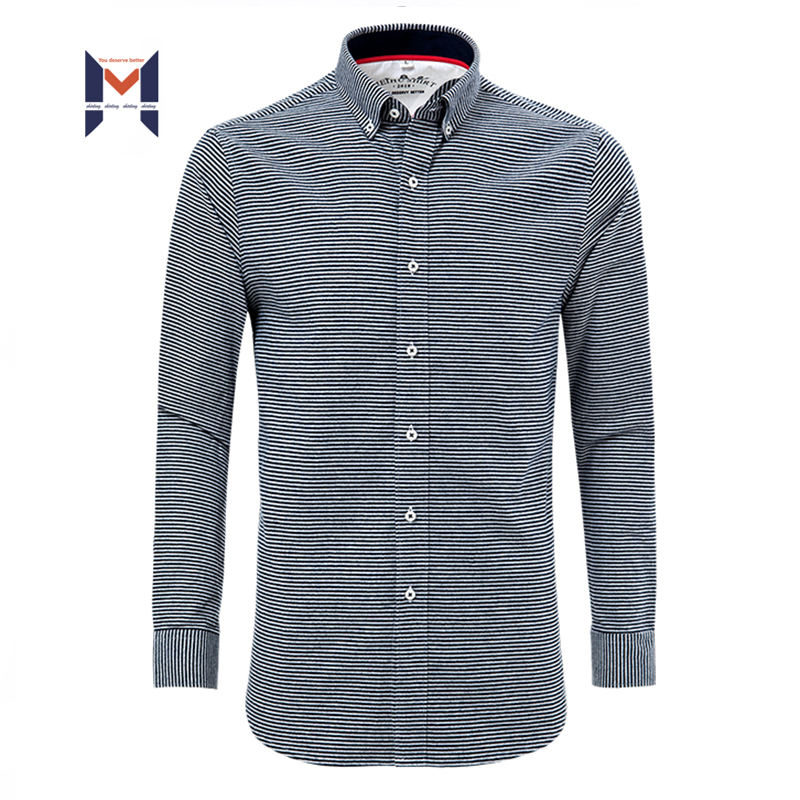Long Sleeve Shirts Spread Collar Fashion Men's Button Down Stylish Formal For Men Popular Office Dress Mens Shirt