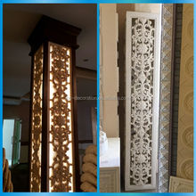Hotel decorative led light columns