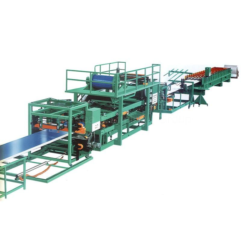 new products cold color steel auto sandwich roof panel roll line making forming machine for sale