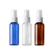 Cosmetic small Mini mist PET bottle Hair powder oil 50 ml spray pump bottle