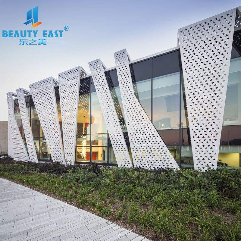 External Facade Wall Cladding Panel Aluminum Solid Panel from Foshan