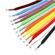 10mm Flat Polyester Stock Shoe Laces 30 Colours , 100cm 40INCH Bulk Shoelaces For Football Trainer Sneakers Shoes