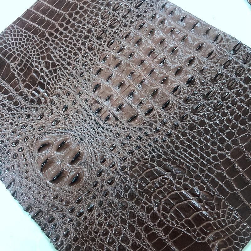2020 new developed real leather crocodile skin for fashion bag making