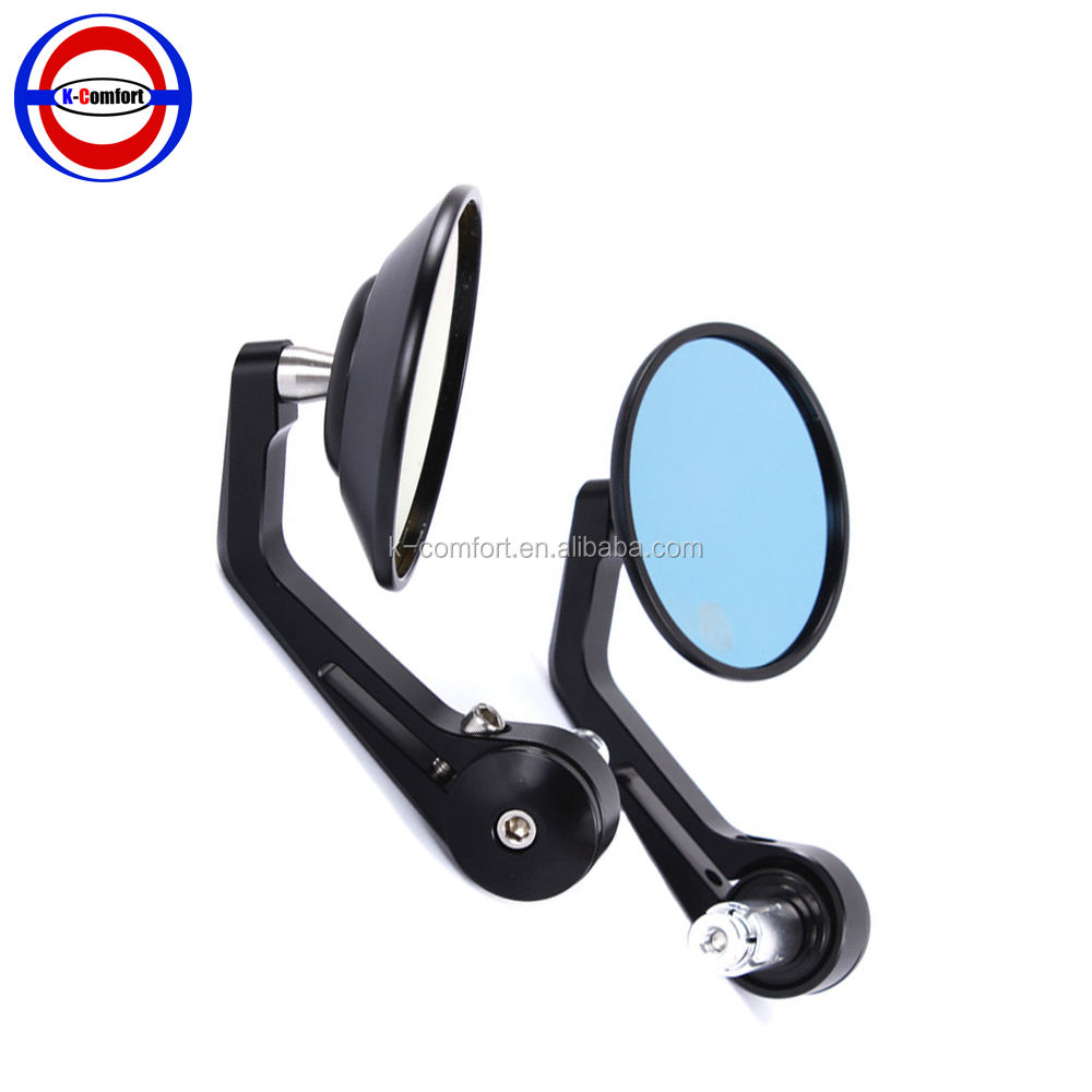 Universale motorcycle rearview specchio Laterale con turn SEGNALI luminosi INDICATORI