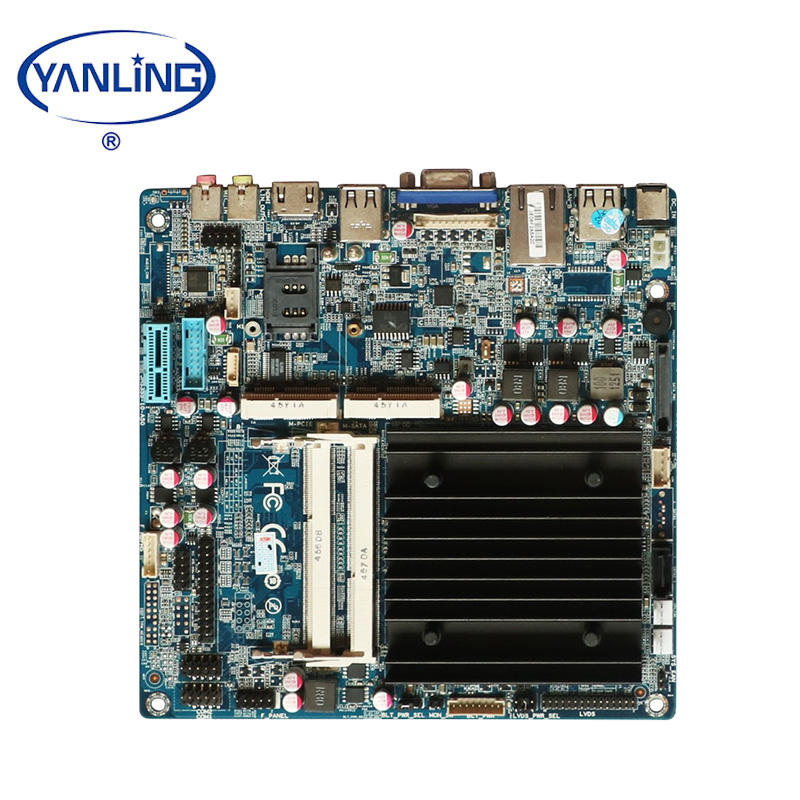 Cheapest dc 12V 8gb ram intel j1900 quad core single lan fanless mini pc motherboard